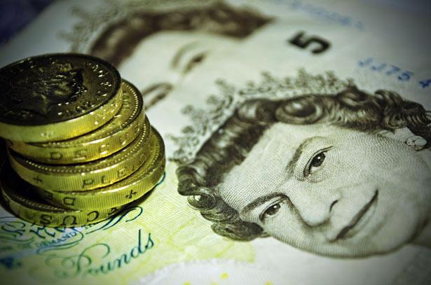 Money Pounds by George Hodan