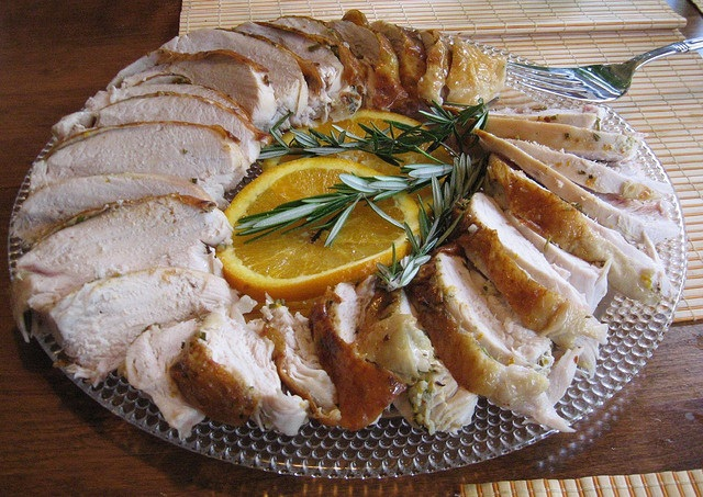 Roast Turkey Breast with Orange and Rosemary