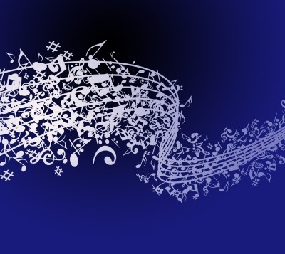 Abstract Music Note